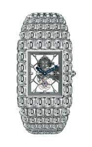 "جييكوب أند كو. ساعة التوربيون الشفافة ""بيليونير"" إصدار فريد مرصع بـ 260 قيراطاً من الماس. Jacob & Co. unique skeleton tourbillon Billionaire, set with 260cts. of diamonds"