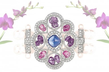 سوار زكاريزماتيكس من مجموعة زليه تاليسمان دو شانيل .  Charismatique bracelet from Les Talismans de Chanel collection