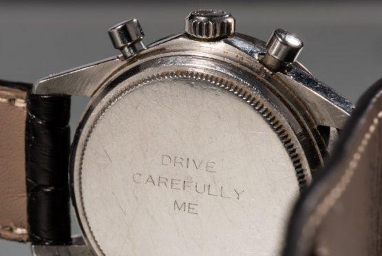 ساعة Paul Newman Cosmograph Daytona التي ستعرض في المزاد لأول مرة اليوم