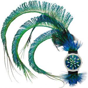 ساعة ALTIPLANO ART & EXCELLENCE FEATHER MARQUETRY من Piaget