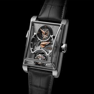 ساعة ARTYA MINUTE REPEATER WITH 3 GONGS, REGULATOR & DOUBLE AXIS TOURBILLON TITANIUM EDITION من ARTYA
