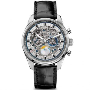 ساعة CHRONOMASTER EL PRIMERO GRANDE DATE FULL OPEN من ZENITH