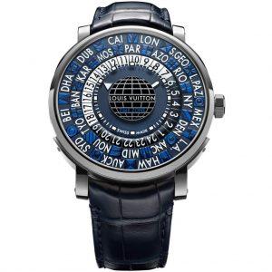 ساعة Escale Time Zone Blue من Louis Vuitton