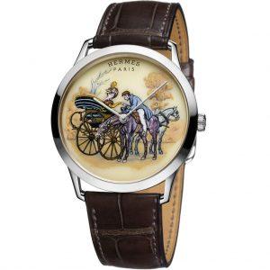 ساعة SLIM D'HERMÈS PROMENADE DE LONGCHAMP من Hermes