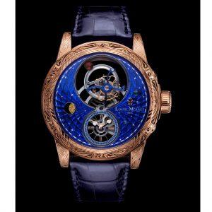 ساعة SPACE MYSTERY من Louis moinet