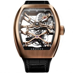 ساعة VANGUARD GRAVITY SKELETON من Frank Muller