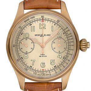 ساعة 1858 CHRONOGRAPH TACHYMETER LIMITED EDITION 100 - Montblanc