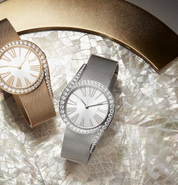ساعات Gala من دار Piaget استوحت منهم نتالي طراد تصاميم لحقائب جديدة. (Piaget)