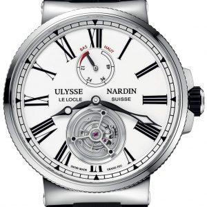 ساعة marine tourbillon  من Ulysse Nardin
