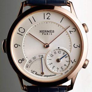 ساعة Slim d'Hermes l'heure impatiente  من Hermes