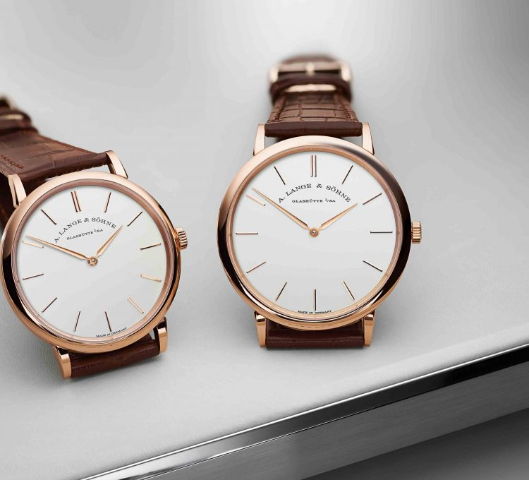 ساعة Saxonia Thin من دار A. Lange & Sohne