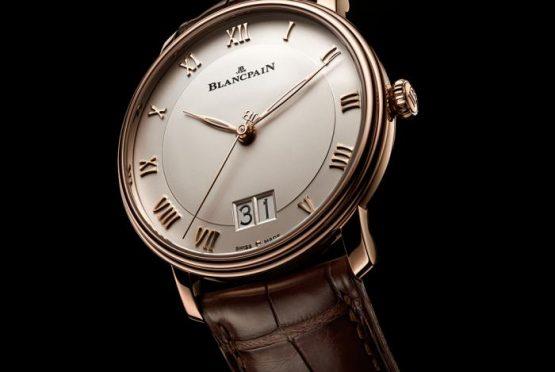 ساعة Villeret Grand Date من دارBlancpain