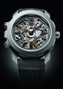 يبلغ قطر علبة الساعة الجديدة هذه 44 ملم. (المصدر: Bulgari)