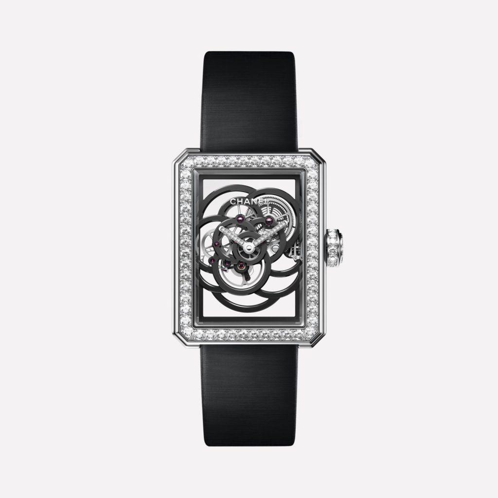 ساعة Chanel Première Camélia Skeleton