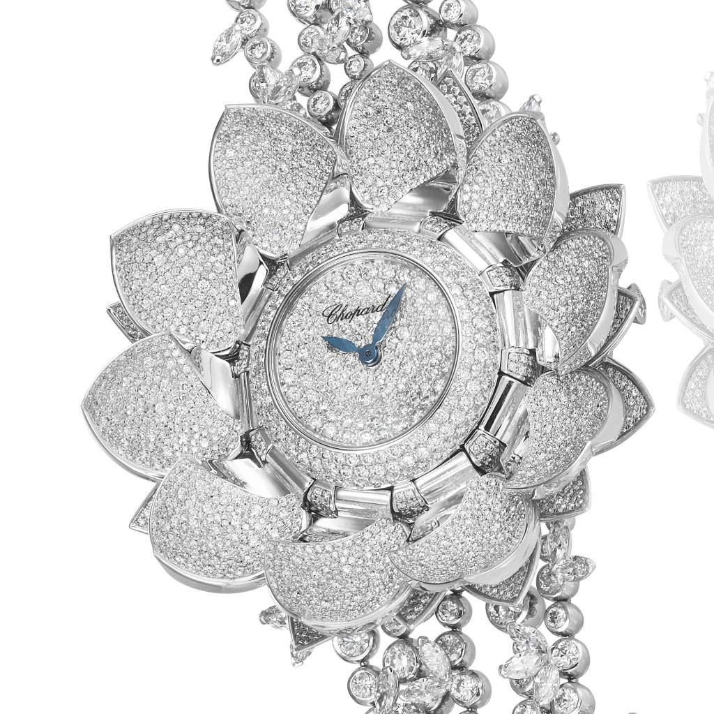 ساعة Chopard Lotus Blanc Watch