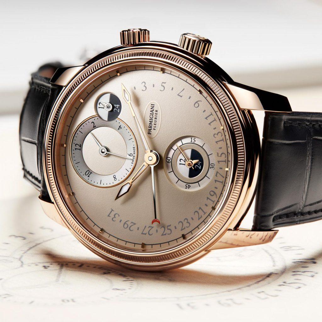 ساعة Parmigiani Fleurier Toric Hémisphères Rétrograde