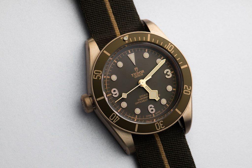 ساعة Black Bay Bronze من دار Tudor