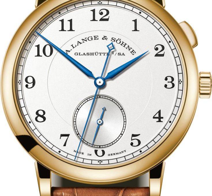 ساعة A. Lange & Söhne 1815 Hommage to Walter Langeمن الذهب الأصفر