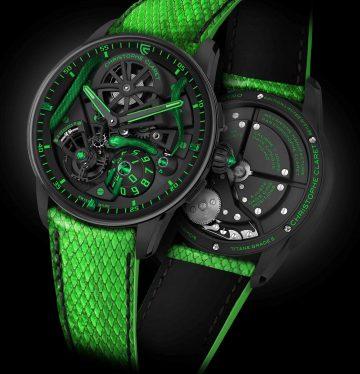 Christophe Claret Maestro Mamba باللون الأخضر