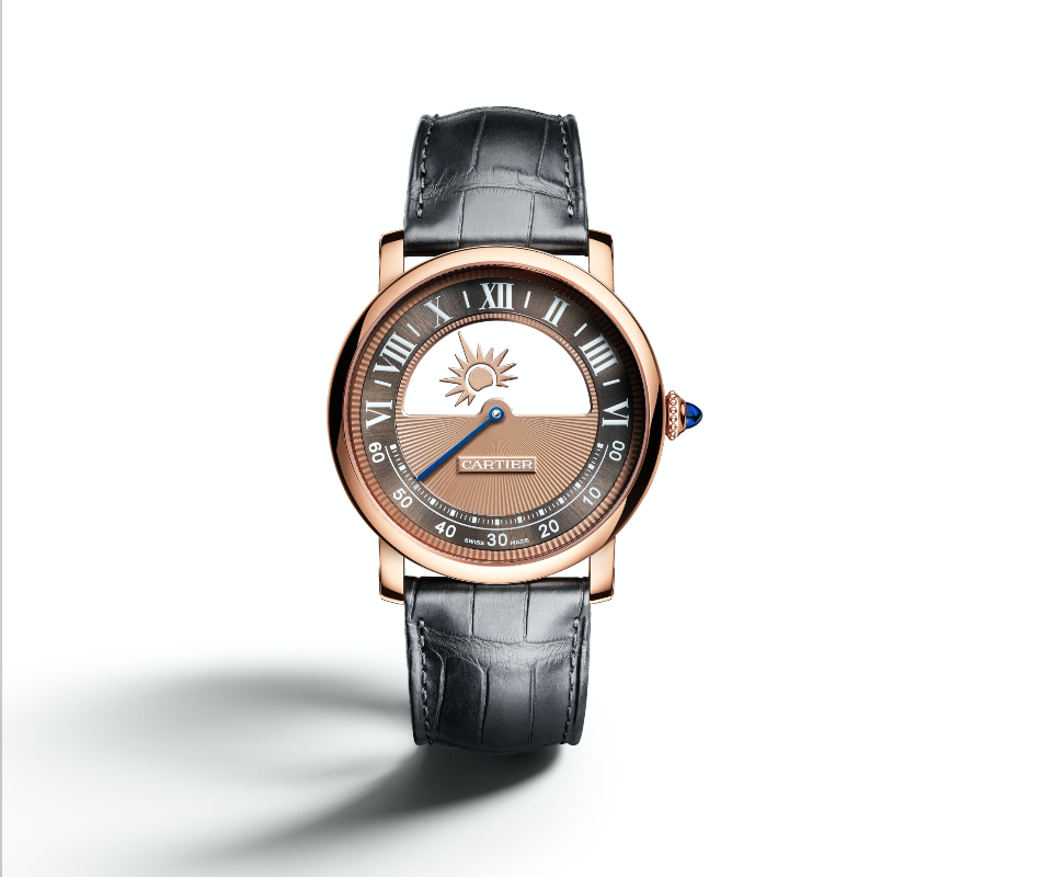 ae103262c ساعة Rotonde De Cartier Mysterious Day & Night