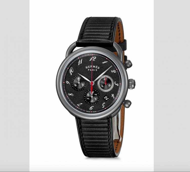 ساعة Hermès Arceau Chrono Titane