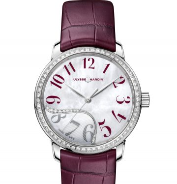 Ulysse Nardin Classico Jade red diamond