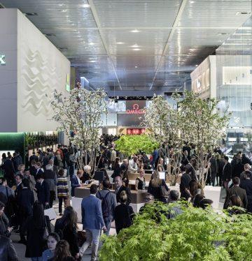 معرض Baselworld العالمي للساعات والمجوهرات.