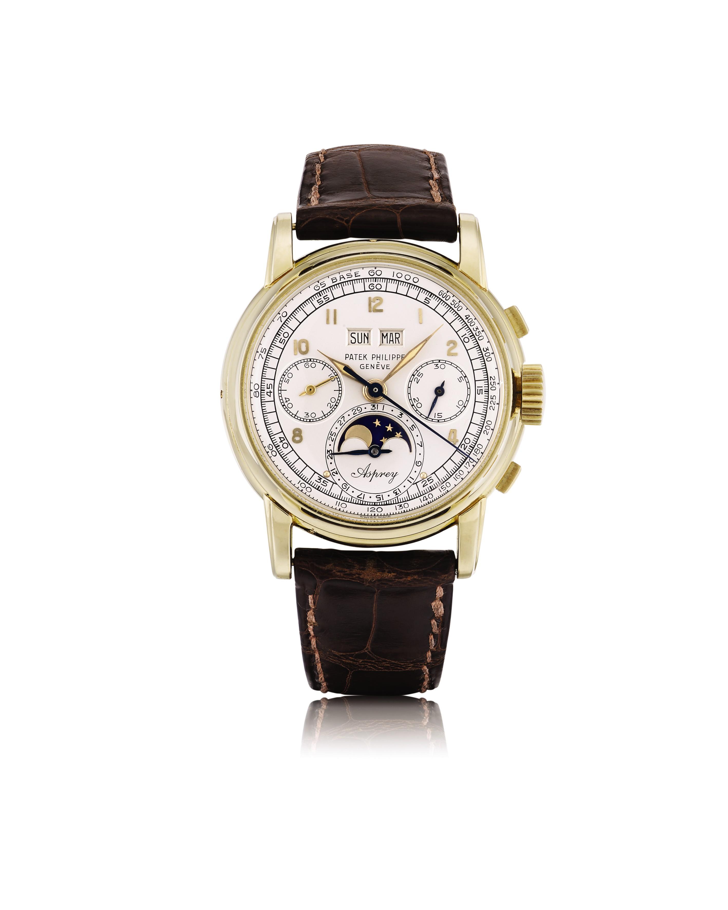 """2619023b6453c واحدة من أهم ساعات المعصم الكلاسيكية في العالم ستكون نجمة مزاد سوذبيز  للمجوهرات الراقية في جنيف في 13 نوفمبر 2018. تعرف هذه الساعة ببساطة باسم  """"The Asprey""""، ..."""